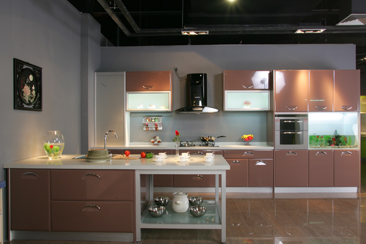 Polyester Paint Kitchen Cabinets