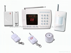 8 wireless zones burglar auto dialer home alarm host home security