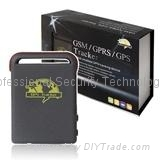 GSM and GPS car tracking car alarm GPS tracker