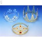 Plastic plated gold or silver crown