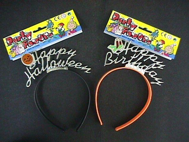Party Favor Headbands