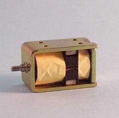 电子锁用自保持式电磁吸铁