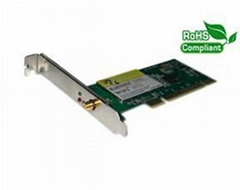 Wi-Fi & Bluetooth 2 in 1 PCI Card, WBC-01