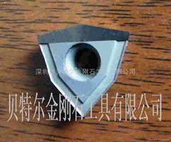 钢化玻璃绞孔钻石(PCD)刀具