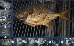 鲜烤金鲳鱼