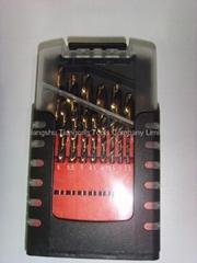 19 PCS HSS Cobalt drill set