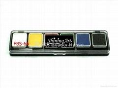 Shining Art (6色)油性基本色人体彩绘颜料
