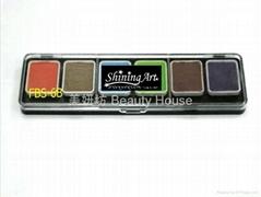 Shining Art 油性(6色)基本色人体彩绘凝彩颜料