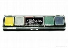 Shining Art 油性 (6色) 珠光色人体彩绘颜料