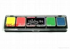 Shining Art 油性(6色)营光夜光色人体彩绘颜料