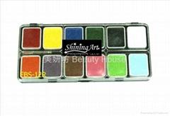 Shining Art 油性(12色) 基本色人体彩绘颜料
