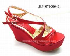 women's sandals with high platform