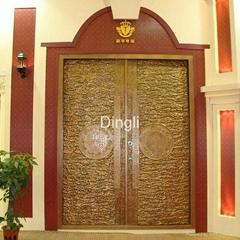 Luxury exterior door
