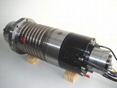 motorized milling spindle