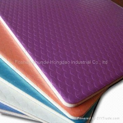 Chameleon and Embossed Aluminum Composite Panel with Diamond Embossed