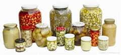 Jar marinated(spicy) garlic series