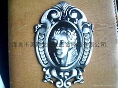 Metal crafts Iron card