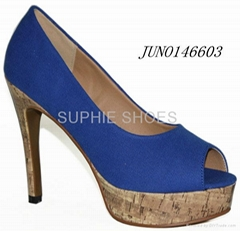 lady high heel shoes summer platform new summer style party