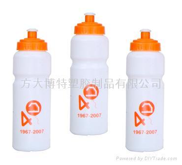 环保塑料运动水壶 2