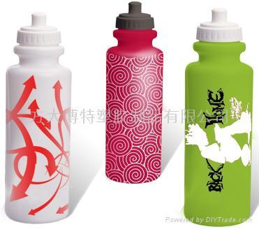 环保塑料运动水壶 3