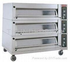 加拿大雷鸟牌TBDO-1300GS上掀式三层九盘电热烤炉