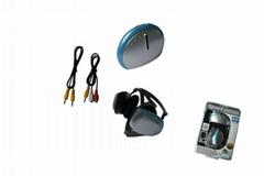 Wii/PS3 FM Radio & Wireless Earphone 2in1