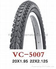 "High quality mountain/BMX bicycle/bike tyre/tire 20""*1.95"""