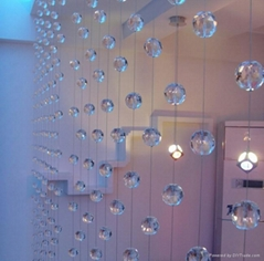 crystal beaded curtain,glass beaded curtain