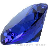 crystal diamond paperweight,crystal diamond,crystal wedding gifts
