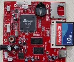 Media Player board CF card