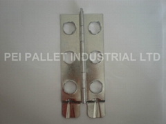 Nailess Plywood Box Hinges