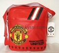English F. A. Premier League Team Manchester United FC Gloss Bags Satchels