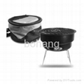NEW Premier Portable BBQ Charcoal Grill & Cooler Combo