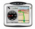 "3.5"" GPS navigator with worldwide map"
