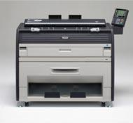 供應京瓷KM-3650W大幅面A0數碼工程複印機,工程打印機 1