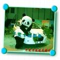 卡通行走人偶大熊貓,國寶熊貓人偶服裝,熊貓大俠卡通服飾 2