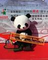 卡通行走人偶大熊貓,國寶熊貓人偶服裝,熊貓大俠卡通服飾 3