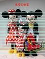米奇老鼠,卡通人偶服装.卡通行