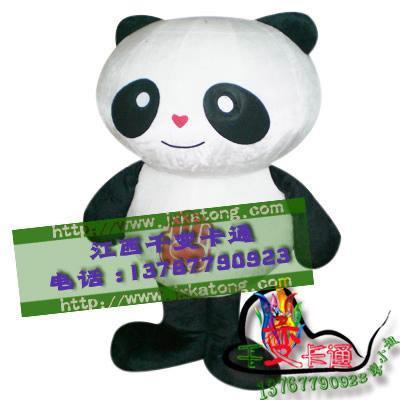 卡通行走人偶大熊貓,國寶熊貓人偶服裝,熊貓大俠卡通服飾 1