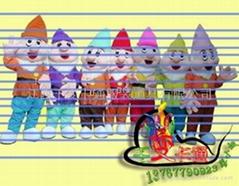 批发卡通人偶服装,卡通行走人偶,卡通人偶,卡通人偶服装厂