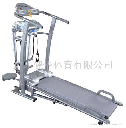 六功能电动跑步机 1