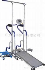 超級單雙槓電動跑步機