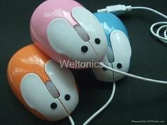 Rabbit PC mouse/mouse/computer mouse/ optical mouse