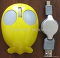 Cartoon / fish optical mouse