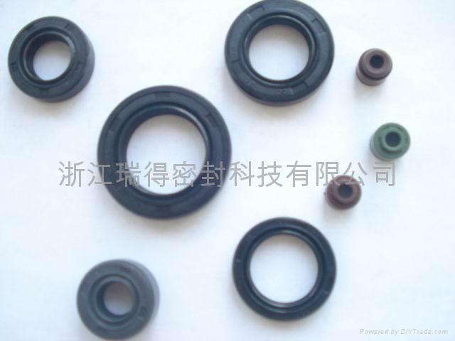 gasket set,oil seals;V--belt;rubber seal 1