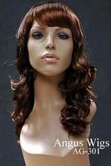 Synthetic Wig Medium Length