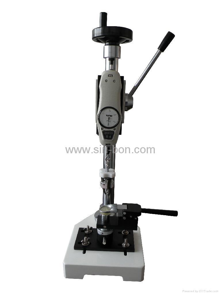 Electronic Testing Instruments : Snap button testing equipment sbt sinbon hong kong