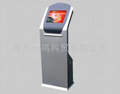 中控ZK4-1指紋櫃式機