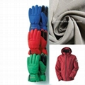 196T Polyester PU Coated Taslon Fabric for Ski Suit/Gloves
