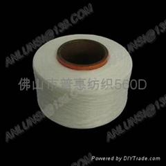 织带包纱用粗旦氨纶丝